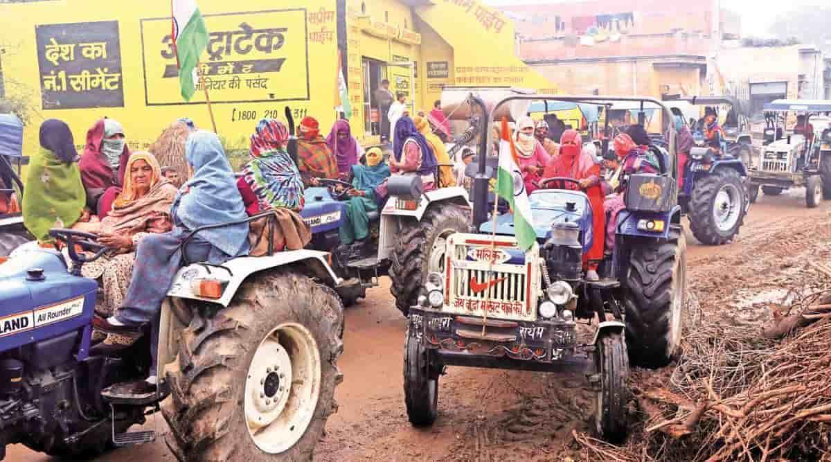 Kisan Tractor Rally: दिल्ली की सीमाओं पर किसानों का ट्रैक्टर मार्च शुरू, नए  कृषि कानूनों के खिलाफ प्रदर्शन | BHN News